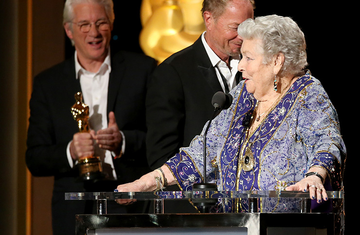 Film editor Anne V. Coates