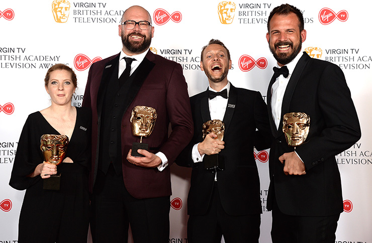 The BAFTA TV awards 2018