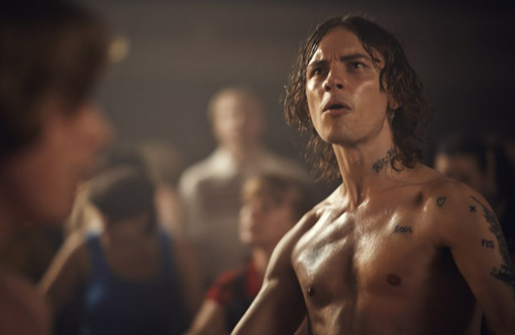 Actor Josh Whitehouse in Northern Soul