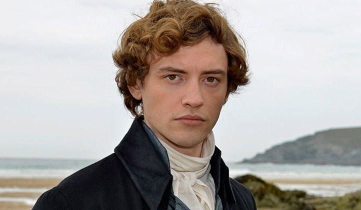 Actor Josh Whitehouse as Hugh Armitage in Poldark