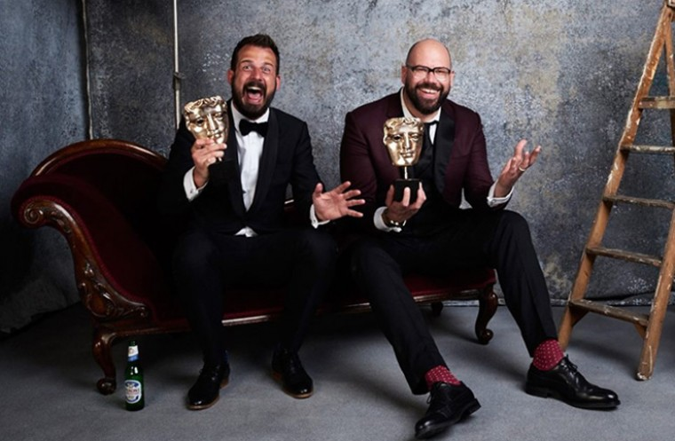 Murder in Successville at TV BAFTA awards
