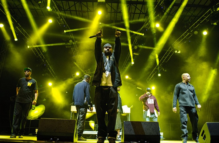 Wu-Tang Clan live on stage