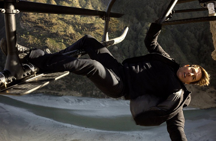 Mission Impossible Fallout starring Tom Cruise