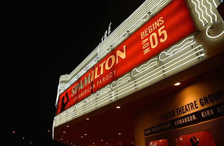 Hamilton parody Spamilton to close