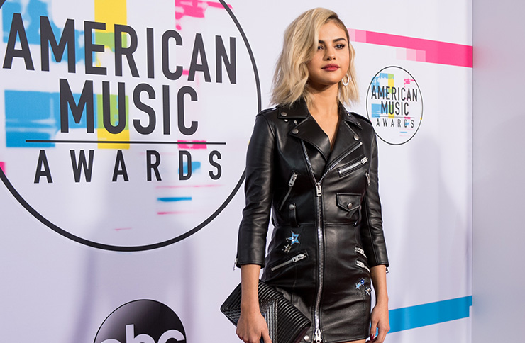 AMA 2017 Selena Gomez at the American Music Awards