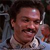 Billy Dee Williams played Lando Calrissian in the original Star Wars trilogy