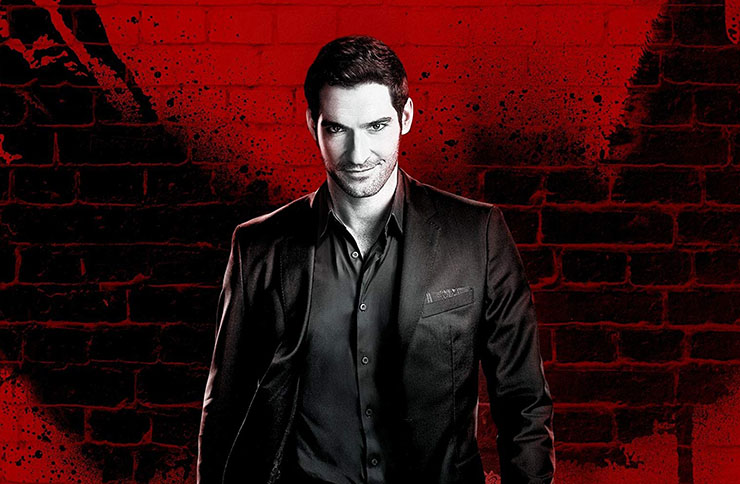 Actor Tom Ellis in Lucifer