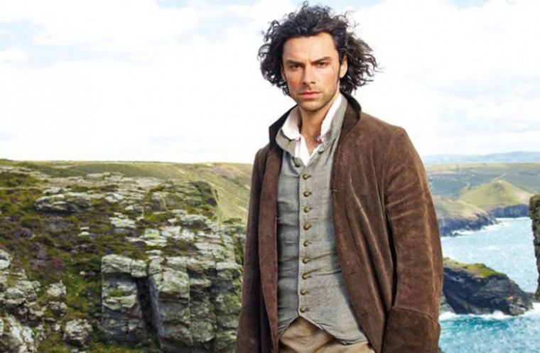 Poldark played by Aidan Turner