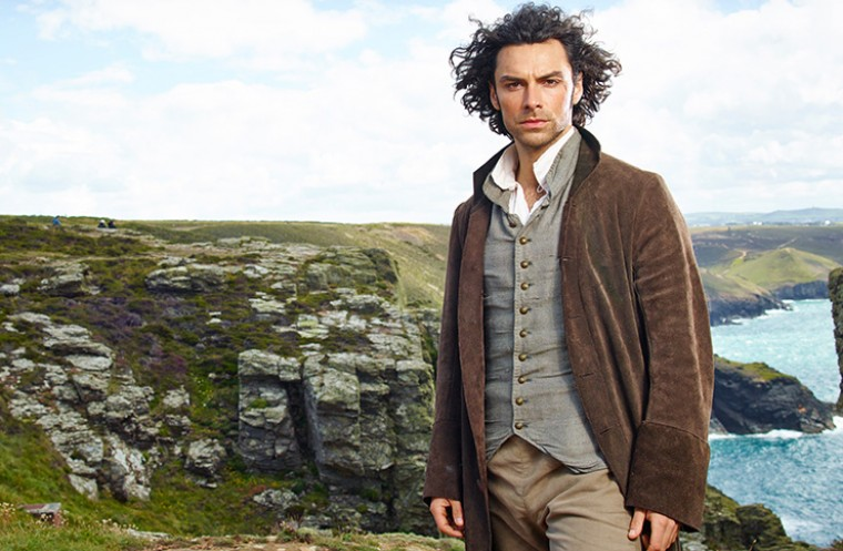 Aidan Turner as Ross Poldark
