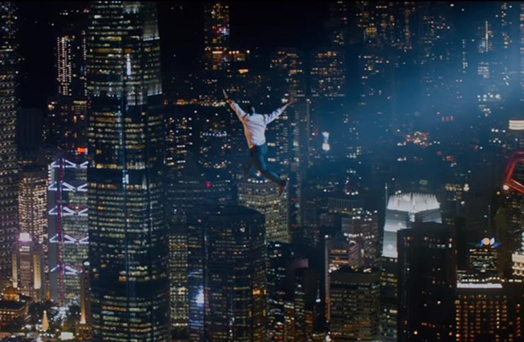 skyscraper movie dwayne johnson set decorator