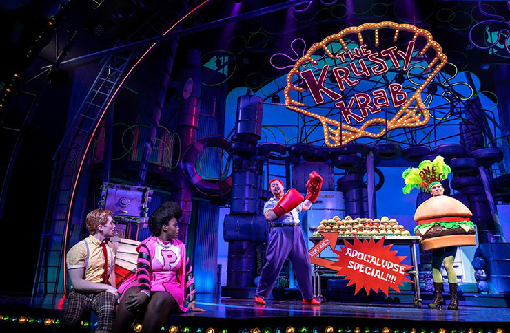 SpongeBob SquarePants musical on Broadway in New York
