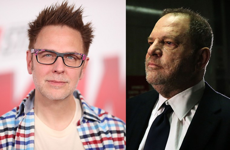 twitter james gunn harvey weinstein