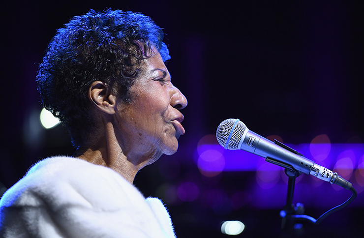 Aretha Frankling dead at 76