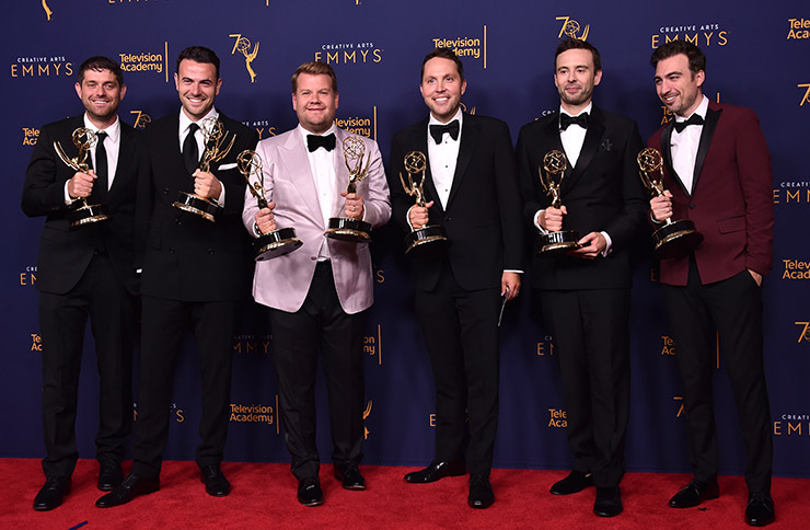 James Corden emmys 2018 creative arts winners