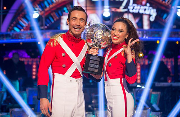 strictly come dancing joe mcfadden tv news dance