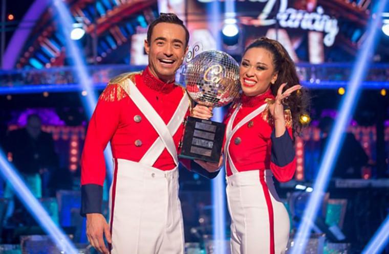 strictly come dancing joe mcfadden tv news dance
