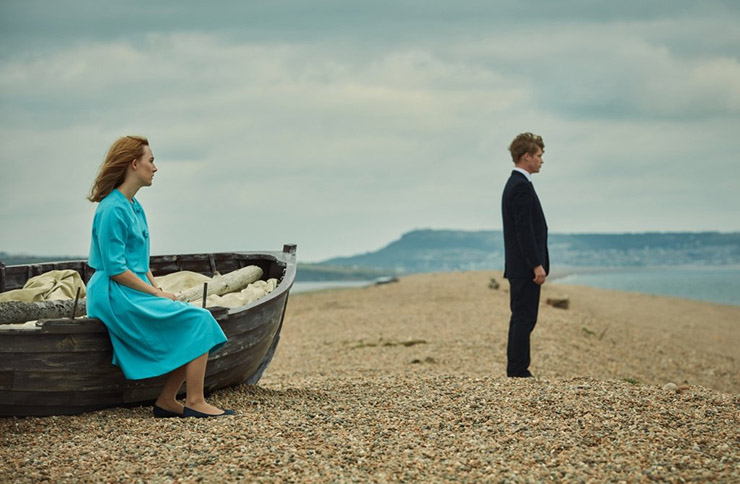 on chesil beach film saoirse ronan suzie davies interview