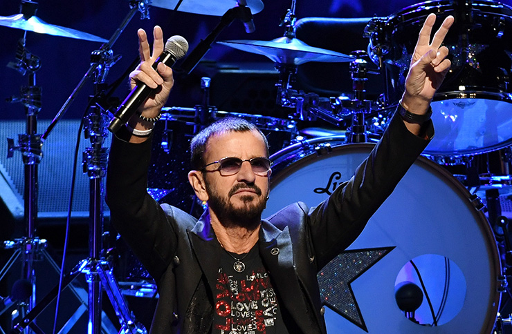 The Beatles drummer Ringo Starr