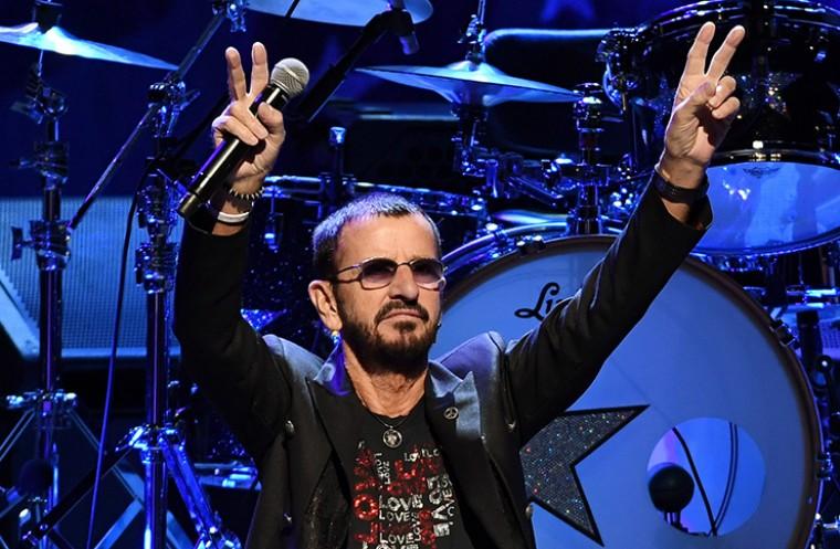 The Beatles drummer Ringo Starr