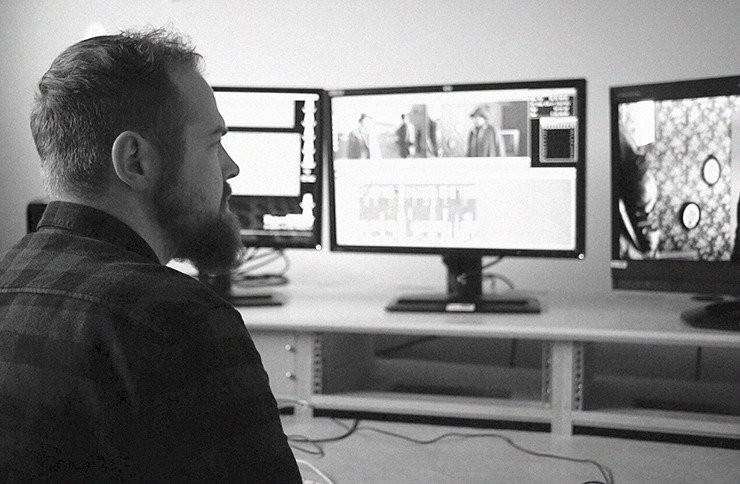 doctor who tv editor david fisher