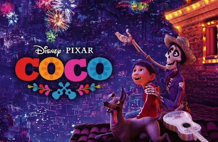 Coco pixar movie poster