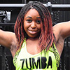 Zumba dance instructor Pachelle Wallace