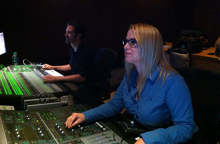 Sound re-recording mixer Karol Urban