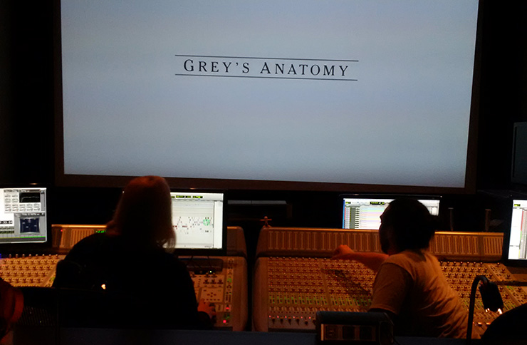 Grey's Anatomy sound re-recording mixer Karol Urban