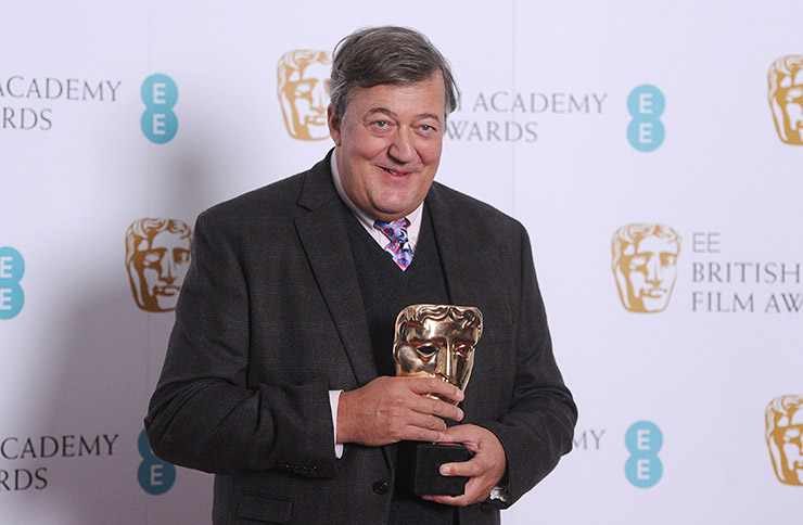 stephen fry BAFTA awards movie film