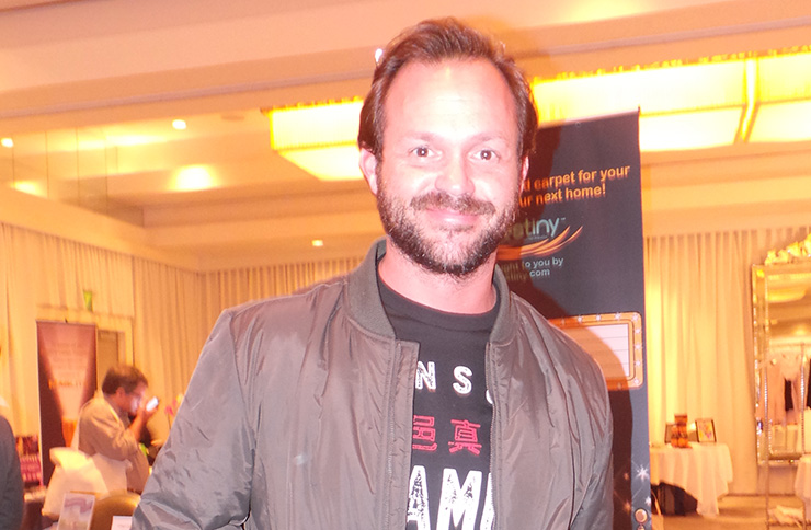 Golden Globes gifting suite – actor Judd Lormand