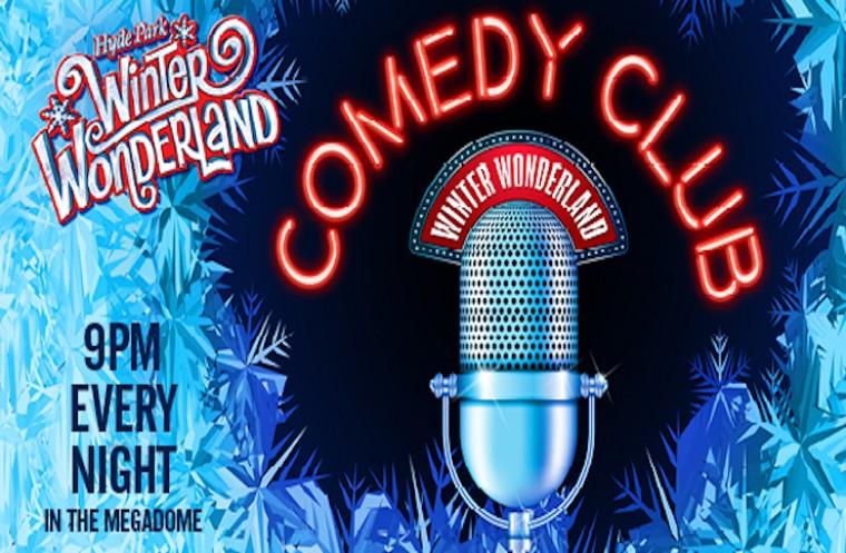 Get Comedy at Winter Wonderland