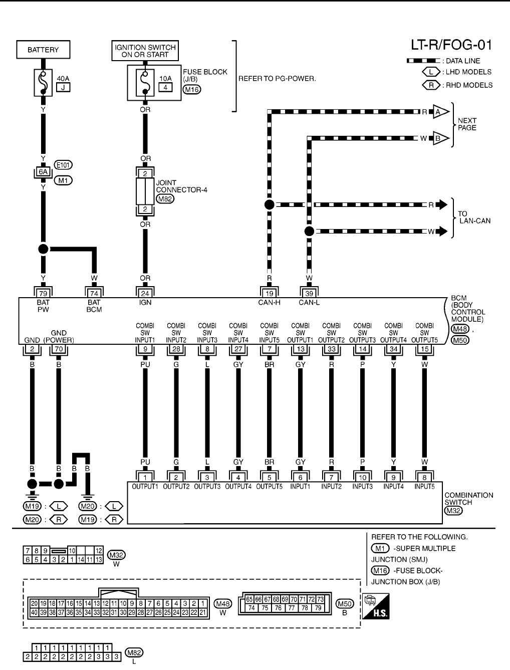 nissan navigation wiring diagram