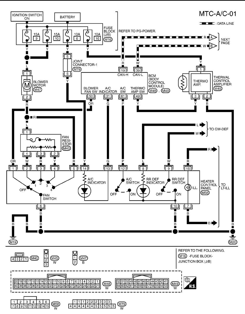 Nissan Wiring Diagrams Pdf - Wiring Diagram Perfomance on