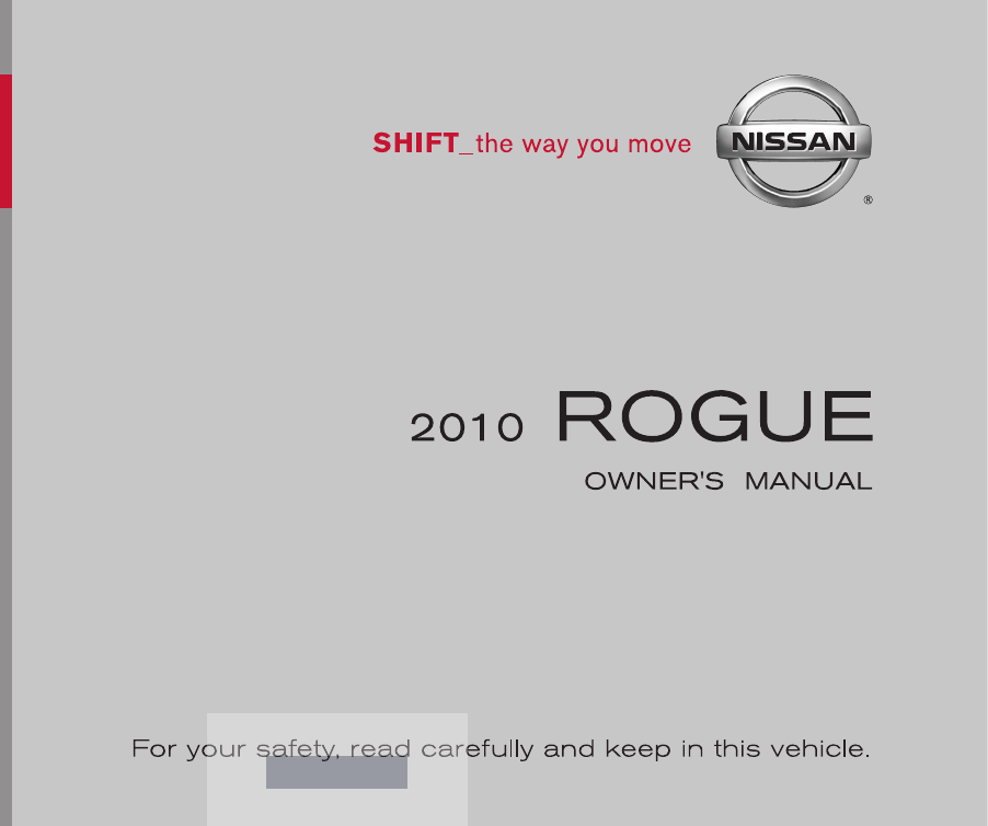 2010 nissan rogue owners manual pdf rh manuals co nissan rogue owners manual 2017 2010 nissan rogue sl owners manual