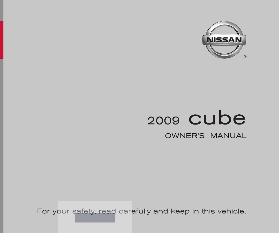 2009 nissan cube owners manual pdf rh manuals co 2009 nissan cube owners manual.pdf Slammed Nissan Cube