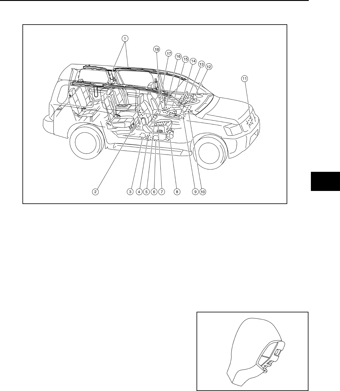 Toyota Sienna Service Manual: Front Occupant Classification Sensor RH CollisionDetection