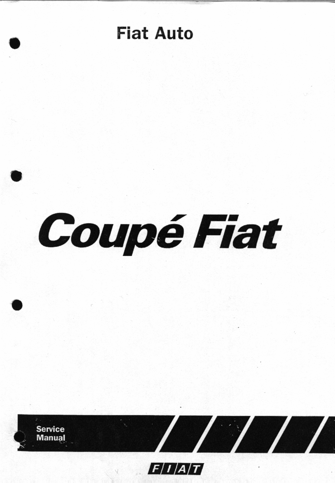 See our other Fiat Coupe Manuals: