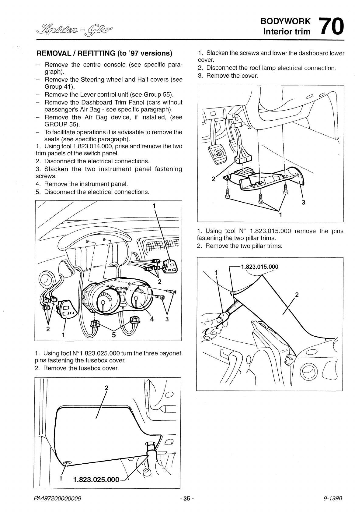 alfa romeo gtv fuse box diagram