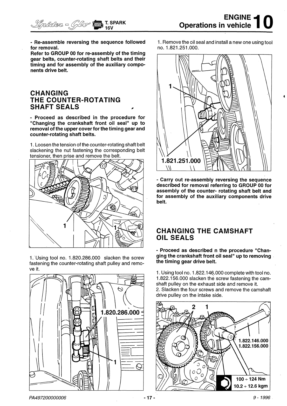 Repair Instructions Vol 1 Pdf Alfa Romeo Timing Gear See Our Other Gtv Manuals