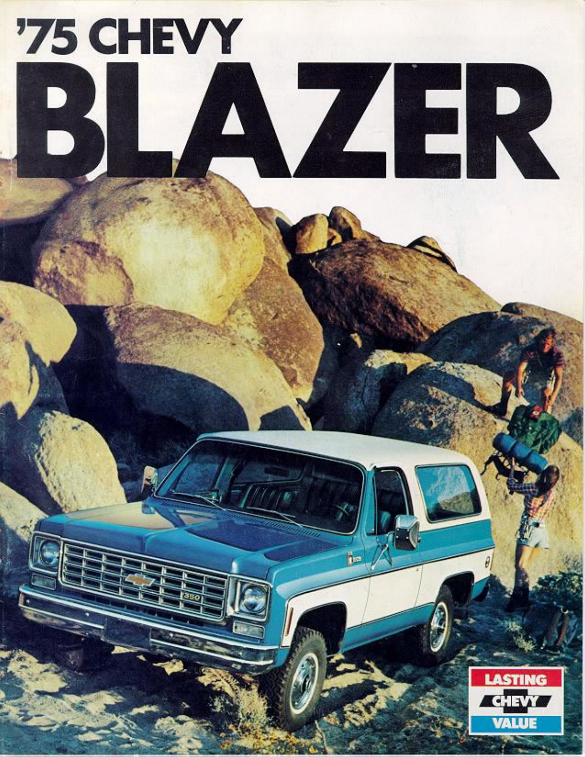 See our other Chevrolet Blazer Manuals: