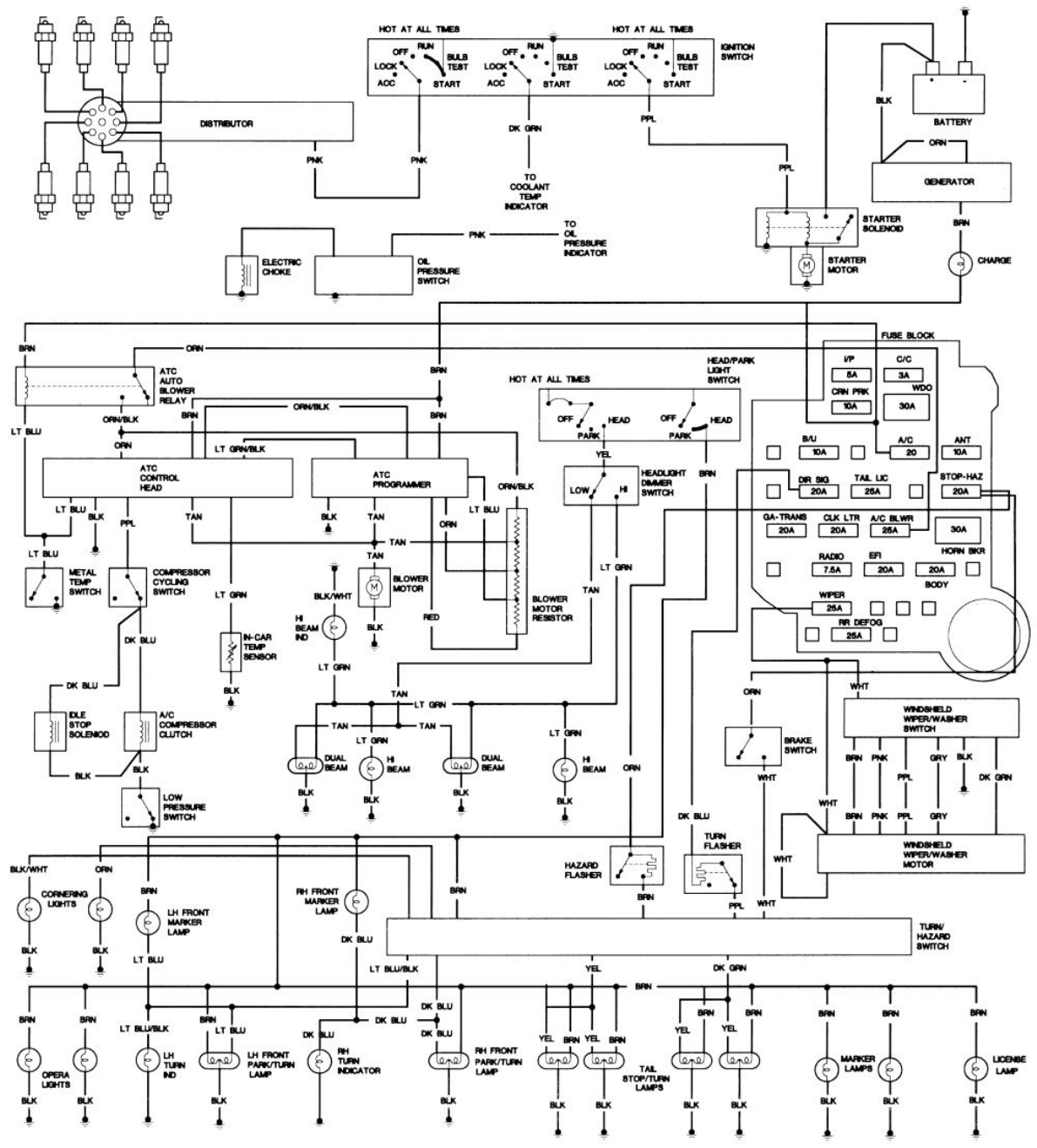 cadillac fleetwood 1977 1980 misc documents wiring diagrams pdf 1993 Isuzu NPR Wiring-Diagram