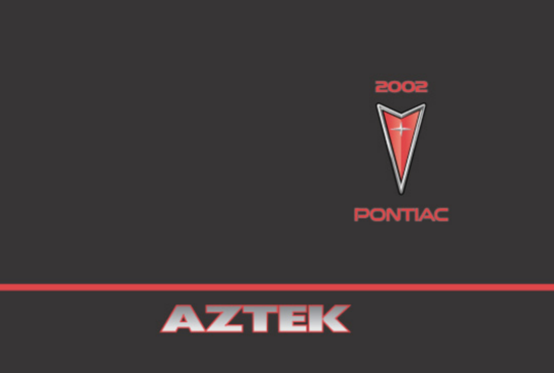 2002 pontiac aztek service repair manual.