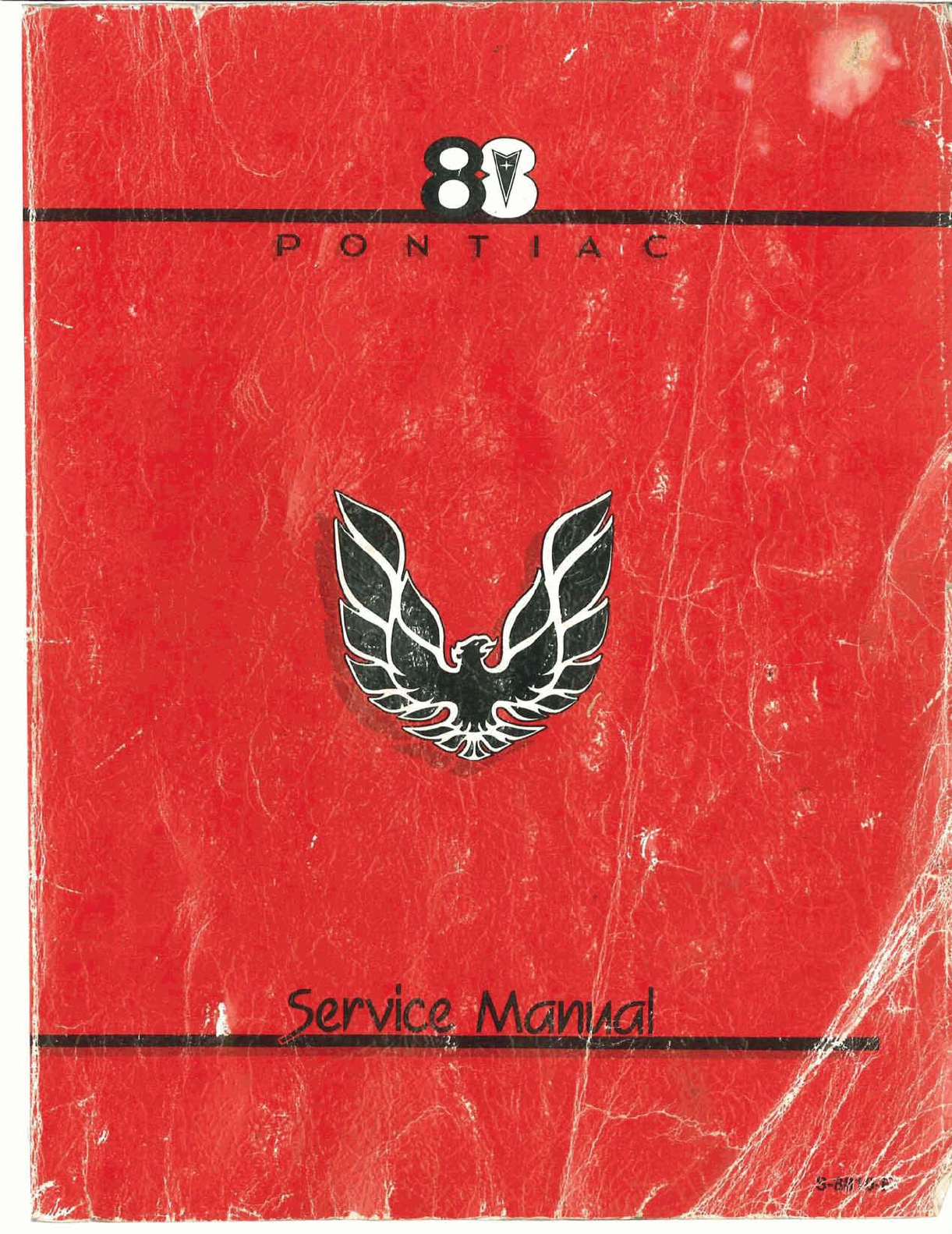 See our other Pontiac Firebird Manuals: