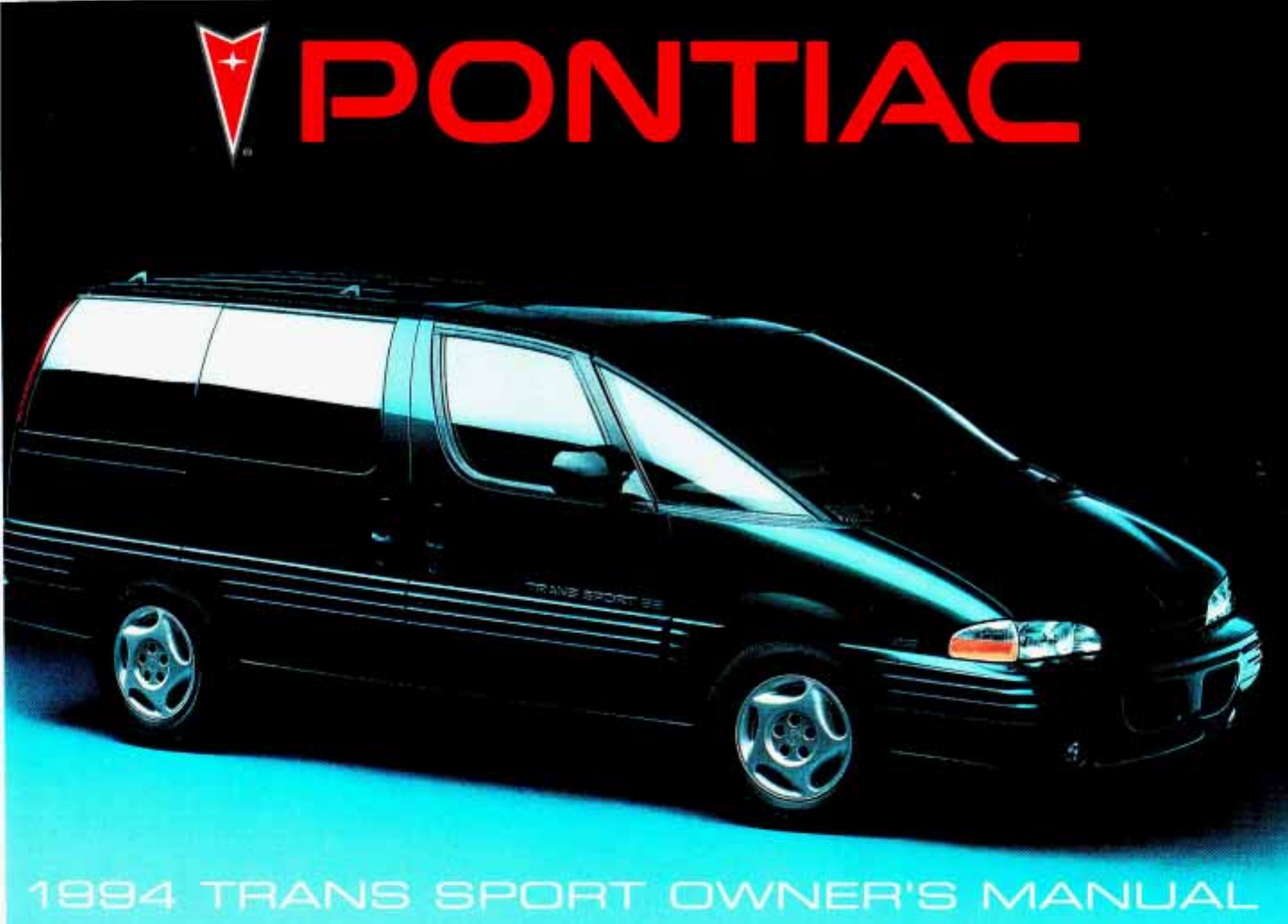 See our other Chevrolet Trans Sport Manuals: 1997 Pontiac Trans Sport  Owners Manual