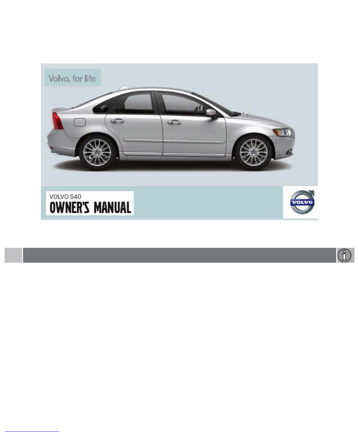 2008 Volvo S40 Owners Manual 2004 S60r Fuse Box Pdf Rh Manuals Co Cars S60