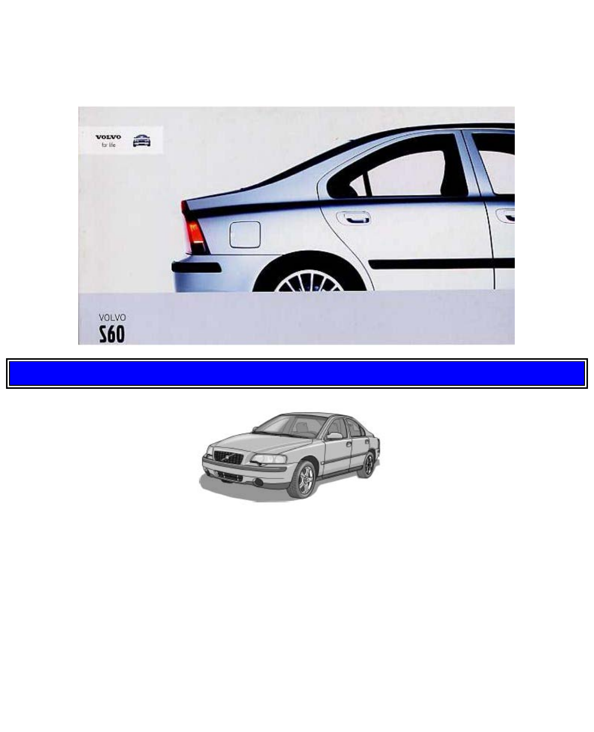Volvo S60 T2 0 Owners Manual 2004 S60r Fuse Box 2003 Pdf Rh Manuals Co
