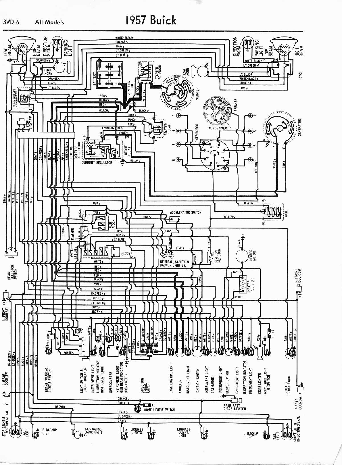 1960 Buick Wiring Diagram Schemes 1952 Chevy Riviera 1957 Misc Documents Diagrams Pdf Rh Manuals Co 2004 Lesabre