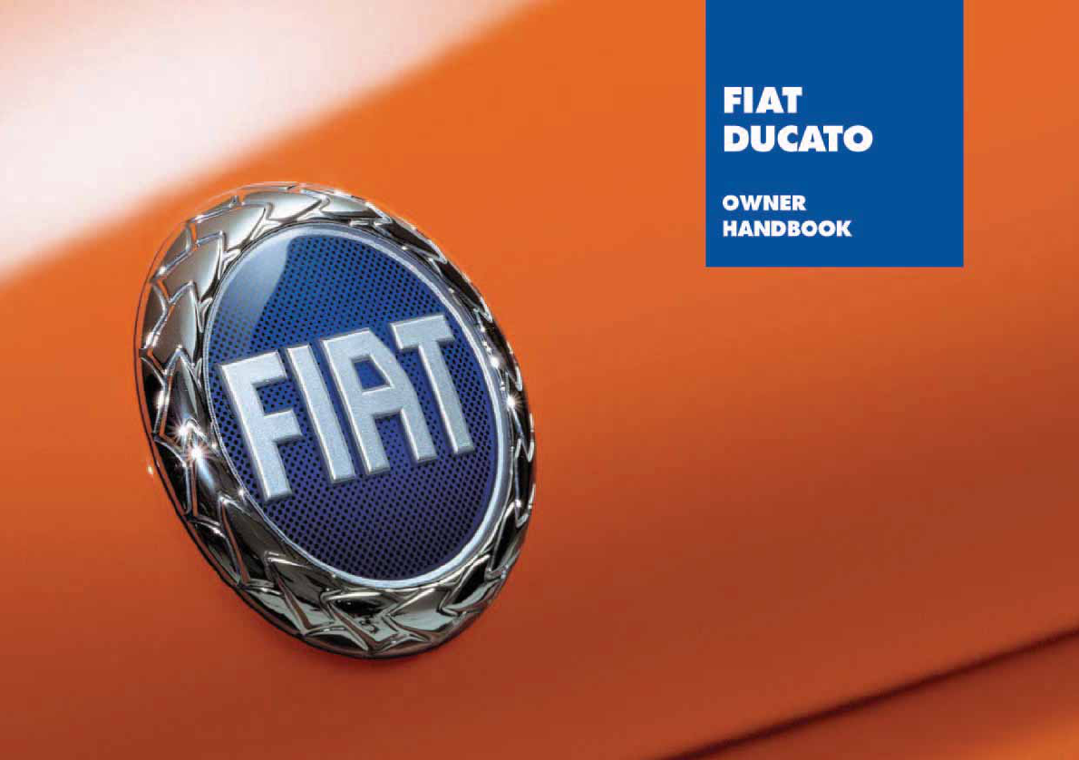 fiat ducato 2005 owners manual pdf rh manuals co Fiat Ducato USA Fiat Ducato Interior