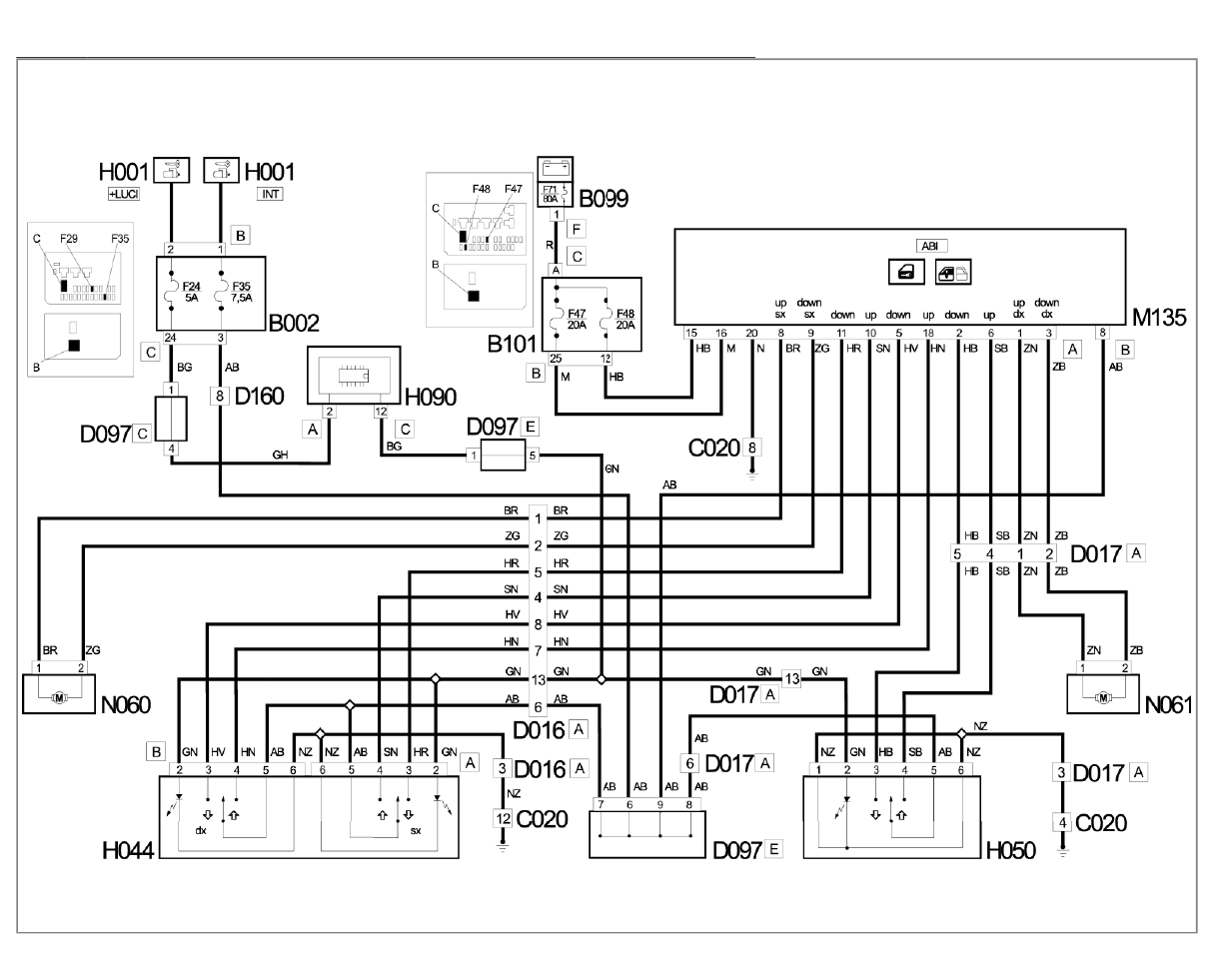 Fiat Ducato Electrical Diagram Detailed Wiring Diagrams Motorhome Misc Documents Pdf Dimensions
