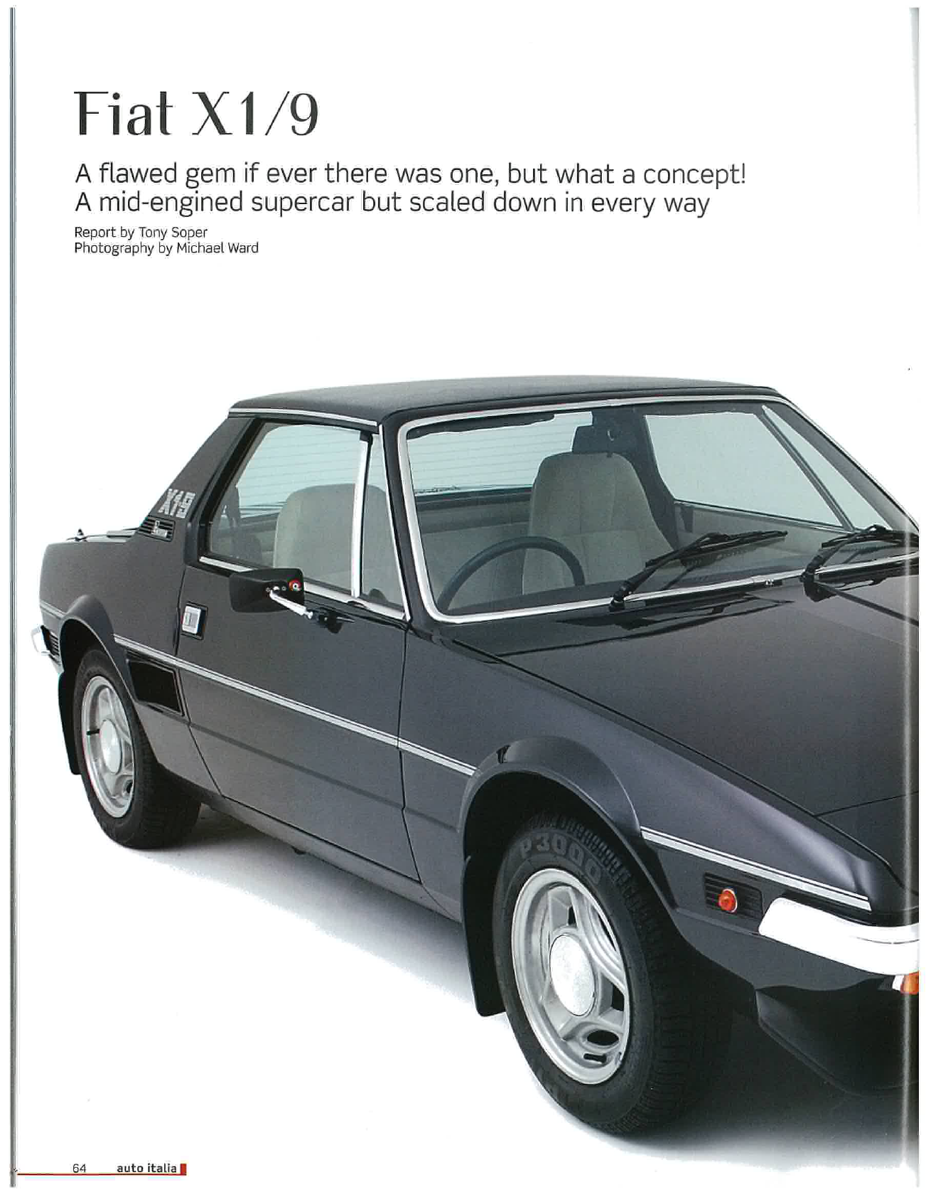 See our other Fiat X1-9 Manuals: Fiat X19 Workshop ...